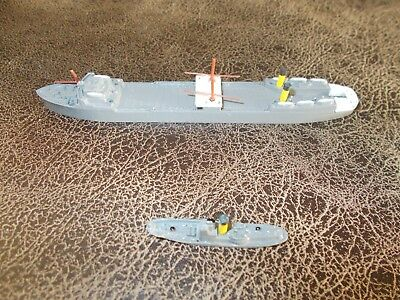 Vintage Triang minic ship T.S.S Vikingen and whaler.