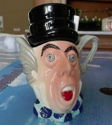 Cardew Madhatter Tea Pot with Barcode Sticker Unused