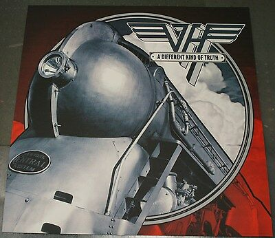 VAN HALEN A Different Kind of Truth CORRUGATE POSTER BOARD 24x24 RARE
