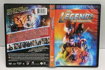 DCs Legends of Tomorrow: The Complete Second Season (DVD, 2017) Free Shipping