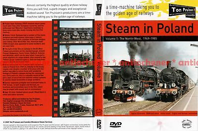 DVD: Ton Pruissen - Steam in Poland - Volume 1 The North-West, 1969-1985