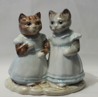 """Royal Albert Beatrix Potter """" Mittens and Moppet """""""