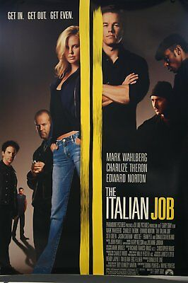 The Italian Job - Charlize Theron, Mos Def - Poster 27 X 40 (446)