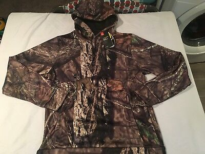 NWT $74.99 Under Armour CG Mens Storm Camo Hoodie Mossy Oak BreakUp Country MEDI