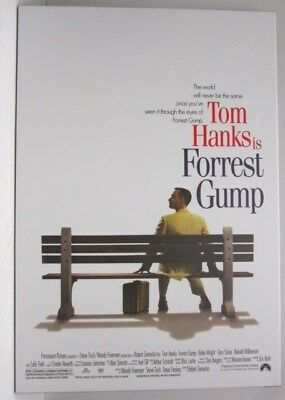 Forest Gump Movie Poster Reproduction on Canvas
