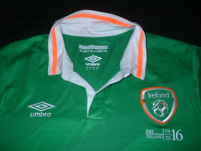 Republic of Ireland Football Large Mans Easter Rising 1916-2016 Home Jersey