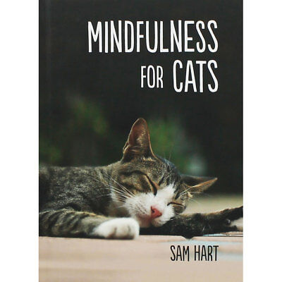 Mindfulness For Cats by Sam Hart (Hardback), Non Fiction Books, Brand New