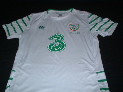 Republic of Ireland Football Large Mans Easter Rising 1916-2016 Away Jersey