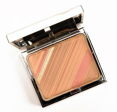 New In Box With Pouch: Clarins Graphic Expression Face  & Blush Powder  £27 Lhc