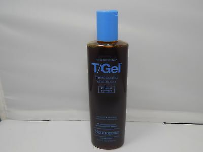 Neutrogena T/Gel Therapeutic Shampoo Original Formula(Dandruff) 8.5oz./250ml NEW