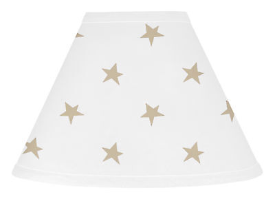 Gold Star Lamp Shade For Sweet Jojo Designs Celestial Baby Kid Girls Bedding Set