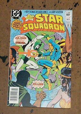All-Star Squadron #27 Ordway Thomas Howell DC Copper Age Comic Book VF  bx