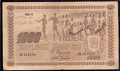 1000 Mark From Finland 1922