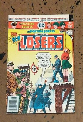 Our Fighting Forces #168 Losers Dominguez DC Bronze Age Comic Book VG  bx