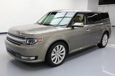 2014 Ford Flex Limited Sport Utility 4-Door 2014 FORD FLEX LTD ECOBOOST AWD SUNROOF LEATHER NAV 17K #D09048 Texas Direct