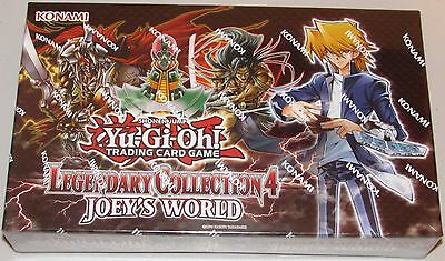 YU-GI-OH! LEGENDARY COLLECTION 4 JOEY'S WORLD 5 Mega-Packs, 3 Ultra, Game Board