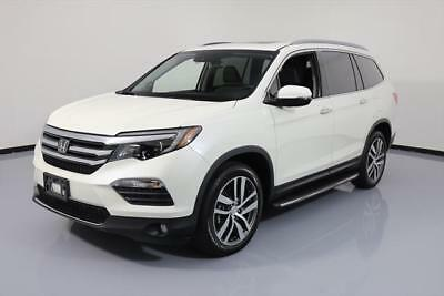 2017 Honda Pilot Touring Sport Utility 4-Door 2017 HONDA PILOT TOURING AWD 8-PASS SUNROOF NAV DVD 7K #025853 Texas Direct Auto