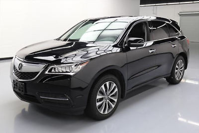 2015 Acura MDX Base Sport Utility 4-Door 2015 ACURA MDX TECH 7-PASS LEATHER SUNROOF NAV DVD 51K #004786 Texas Direct Auto