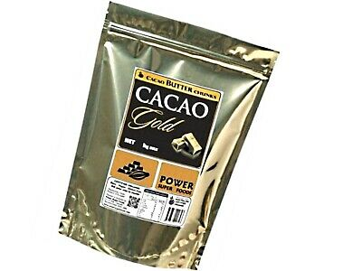 Raw Organic Cacao GOLD Butter Chunks 1kg - Power Super Foods * FREE POST