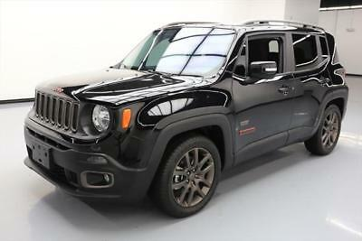 2016 Jeep Renegade  2016 JEEP RENEGADE LATITUDE 75TH ANNIV AUTO SUNROOF 15K #C60081 Texas Direct