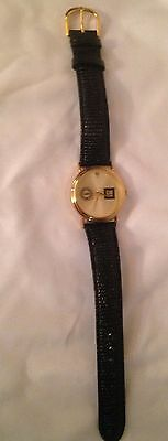 Collectible GM UAW Men's Award Watch w/ Leather Band