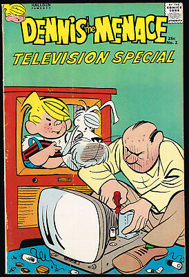 First Printing DENNIS THE MENACE GIANT TELEVISION SPECIAL 2 - High Mid Grade