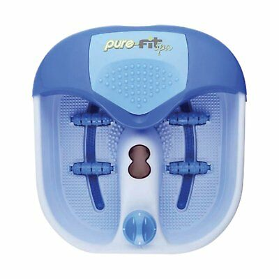 Pure-Fit Spa Deluxe Massage Foot Spa and Pedicure Kit