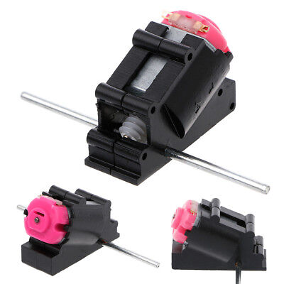 Double Shaft Bevel DIY Angle Gear Motor Suit Worm Reducer 3-6V Parts