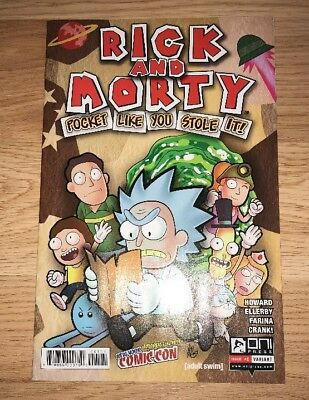 Rick & Morty: Pocket Like You Stole It #1 New York Comic Con Variant!!!