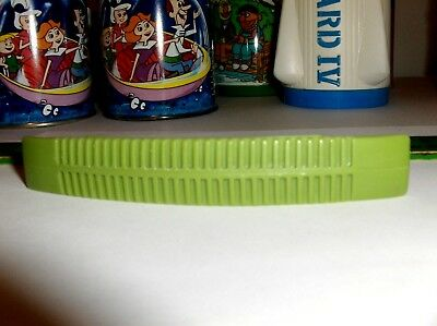 Green-Plastic Aladdin-Lunchbox Handle For Tarzan,Gomer Pyle Lunch Box-Free To US