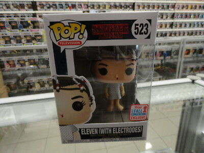Funko Pop Vinyl Stranger Things Eleven (With Electrodes) 523 Nycc Exclusive