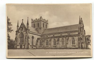 Armagh - St Patrick's Protestant Cathedral - old postcard