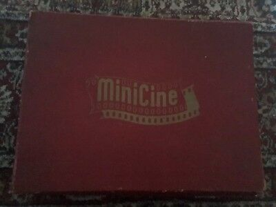 Martin Lucas MiniCine projector Complete In Box With 6 Cine Films