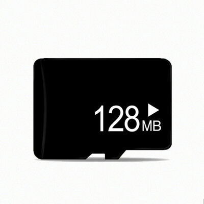For Phones MP3 MP4 PC Tablets Hot 128MB Storage Micro SD TF Card Water Resistant