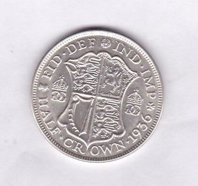 1936 George V Half Crown In Extremely Fine Or Slightly Better Condition