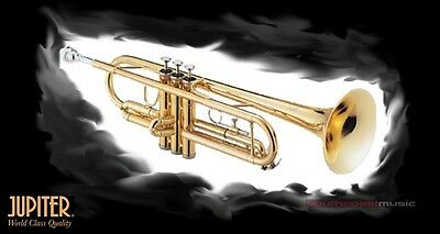JUPITER 408L Bb TRUMPET SUPERIOR STUDENT INSTRUMENT w CASE WARRANTY  +FREE POST