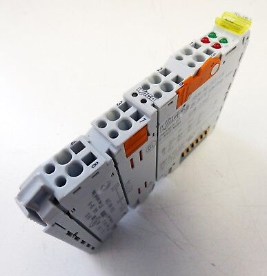 WAGO 753-418 2DI 24V DC 3,0ms Diagn. 2-Kanal Digital Eingangsklemme -used-