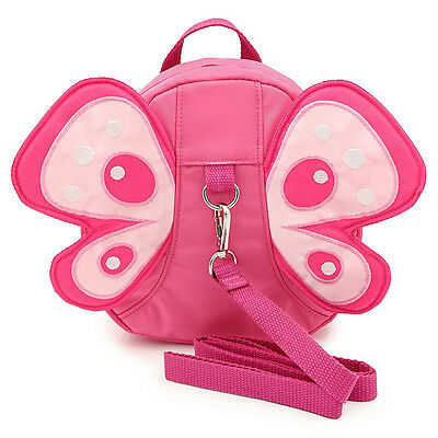 Butterfly Bag Harness Mini Backpacks for Baby Toddler Walking Safety Anti-lost