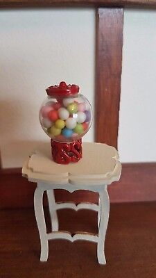 GUMBALL MACHINE Dolls house 1:12th 1:24th scale sweet shop miniature