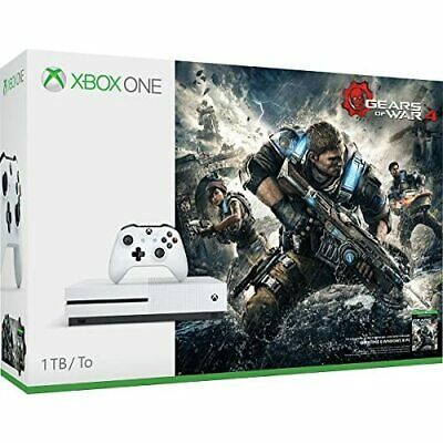 Microsoft Xbox One S Gears Of War 4 1TB Console Bundle Very Good 8Z