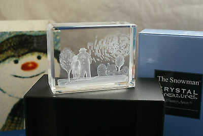 The Snowman & James   Farewell Country Artists Crystal Treasures  Boxed