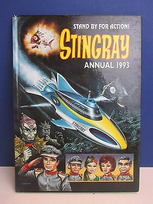 old vintage STINGRAY ANNUAL STORY BOOK hardback 1993 unclipped G ANDERSON p95
