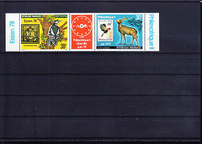 054699 Vögel Birds ... Rwandaise 961-62 ** MNH Year 1978
