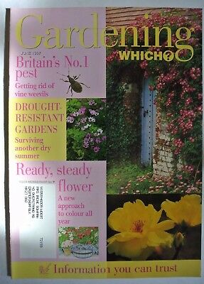 Gardening Which? Magazine. June 1997. Drought-Resistant Gardens. Surviving Dry