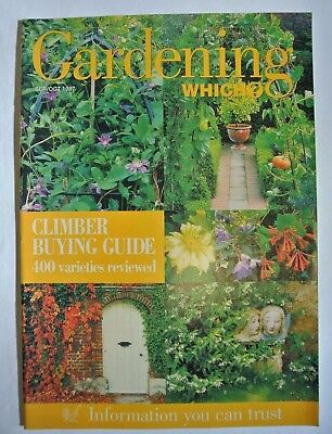 Gardening Which? Magazine. September/October 1997. Climber buying guide.