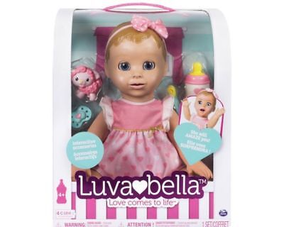 Luvabella Doll - Blonde - Brand New - Quick Dispatch !!