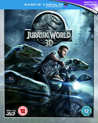 Jurassic World 2D/3D Bluray/Digital/DVD NEW