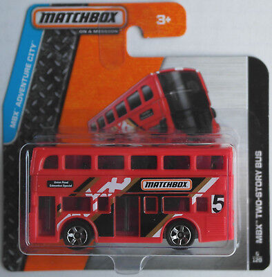 Matchbox - MBX Two-Story Bus / London Bus rot Neu/OVP