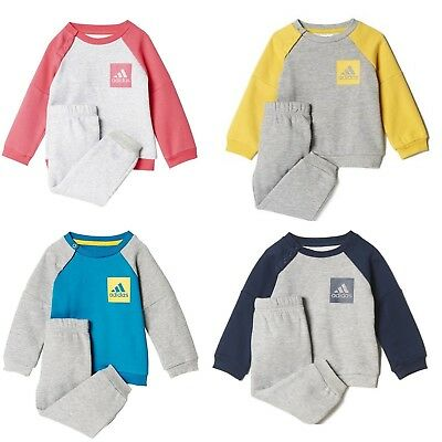 adidas Baby Sports Fleece Jogger Babyjogger Sportanzug Trainingsanzug