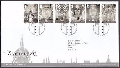 2008  Cathedrals  - Cancel As Scan    Fdc   (4242)